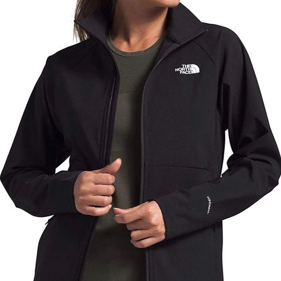 North Face Soft Shell Jacket Black Extra Large